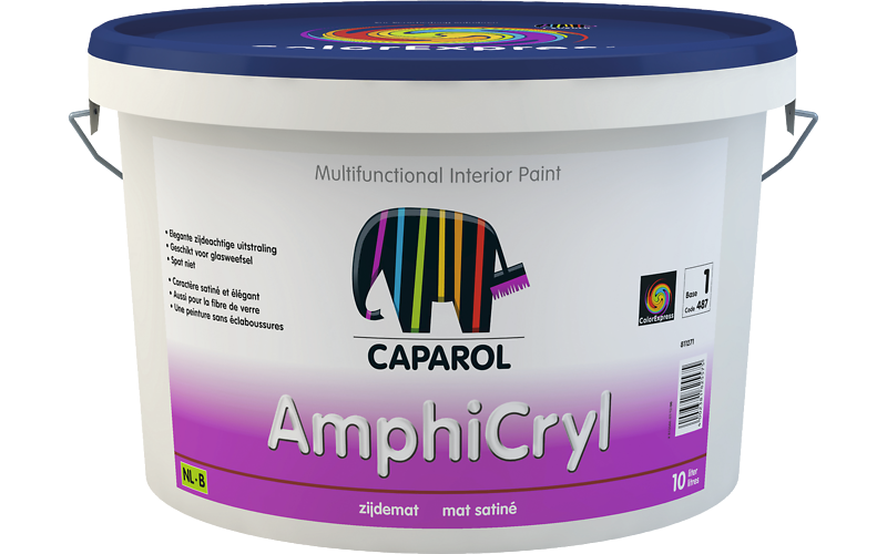 Caparol Amphicryl zijdemat 10L