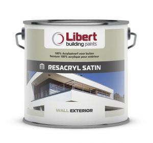 Libert Resacryl Satin wit 10l
