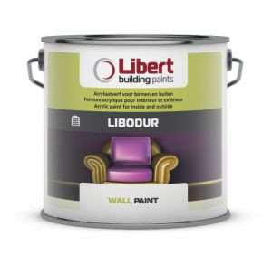 Libert Libodur 10l fluweelmatte acrylaatverf
