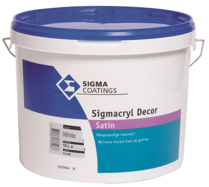 Sigmacryl Decor satin 10L