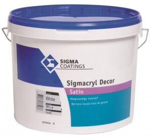 Sigmacryl Decor satin 10L